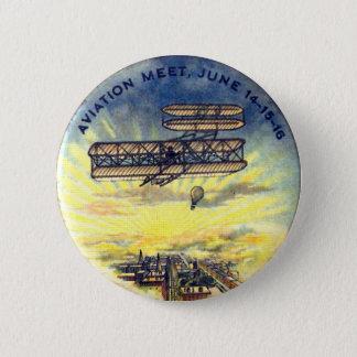 Luftfahrt-Treffen - Knopf Runder Button 5,1 Cm