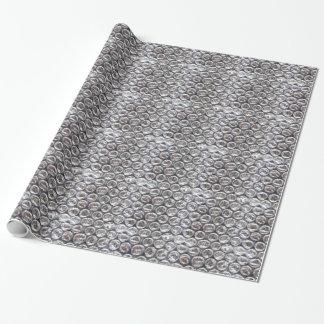 Luftpolsterfolie-Hintergrund Geschenkpapier