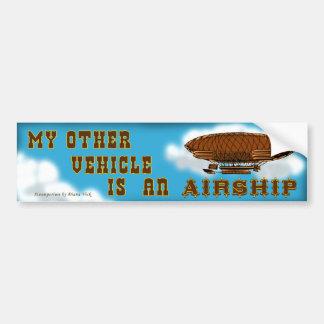 Luftschiff Autoaufkleber