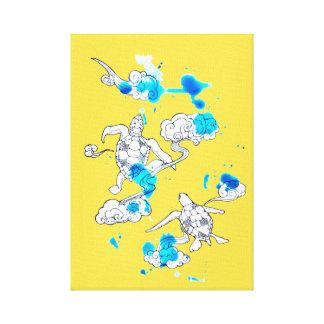 Luftschildkröte Leinwanddruck