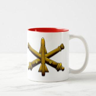 Luftverteidigungs-Artillerie-Trinkbehälter Zweifarbige Tasse