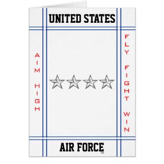 Luftwaffen-allgemeines GEN O-10 Karte