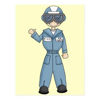 Luftwaffen-Junge Postkarte