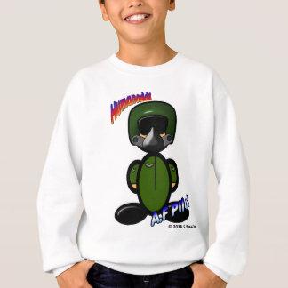 Luftwaffen-Pilot (mit Logos) Sweatshirt
