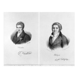 Luigi Cherubini und Nicolas Marie Dalayrac Postkarte