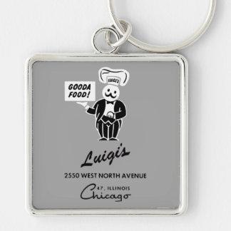 Luigi Restaurant, Chicago, IL Schlüsselanhänger