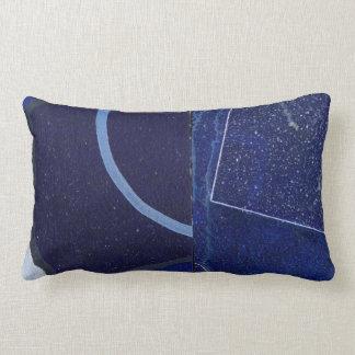 Lumbales Kissen-blaue Jean-Vorlage Lendenkissen