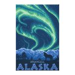 Lumières du nord - Wrangell, Alaska Toiles Tendues Sur Châssis