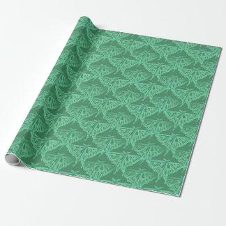 Luna-Motten-Muster Geschenkpapier