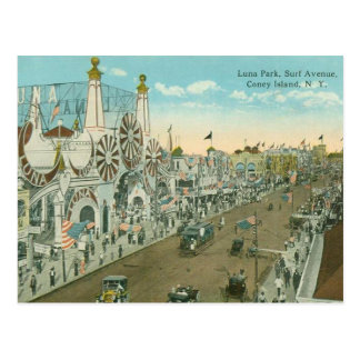 Luna Park Brandungs-Allee Postkarte