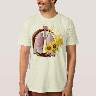 Lungen und Gänseblümchen T-Shirt