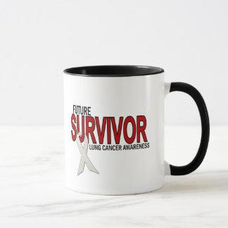 Lungenkrebs-Zukunft-Überlebender Tasse