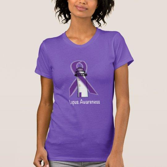 Lupus-Krankheits-Leuchtturm der Hoffnung T-Shirt