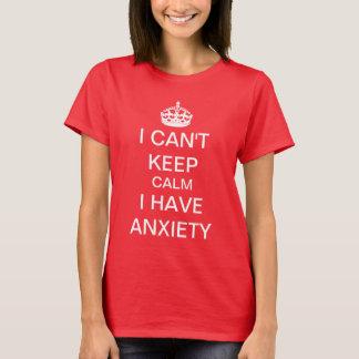Lustig behalten Sie ruhig und machen Sie T-Shirt