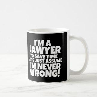 Lustig bin ich eine Rechtsanwalt-Tasse viele Tasse