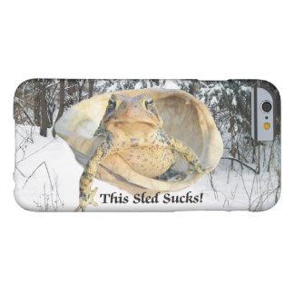 Lustig diese Schlitten-ist zum Kotzen Kröte in der Barely There iPhone 6 Hülle