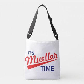 """Lustig """"es ist Mueller-Zeit """" Tragetaschen Mit Langen Trägern"""