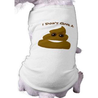 Lustig geben Sie nicht ein Poo Emoji Shirt