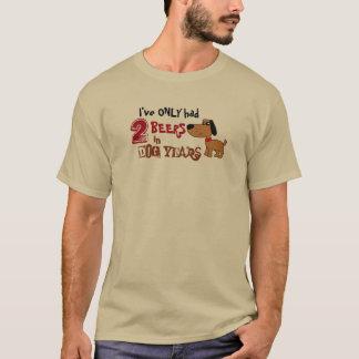 Lustig habe ich nur das 2 Bier-trinkende Shirt