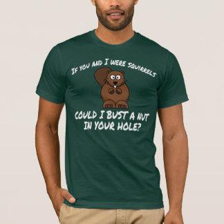 LUSTIG HEBEN SIE LINIE AUF: EICHHÖRNCHEN T-Shirt