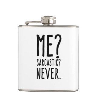 Lustig ich sarkastisch nie