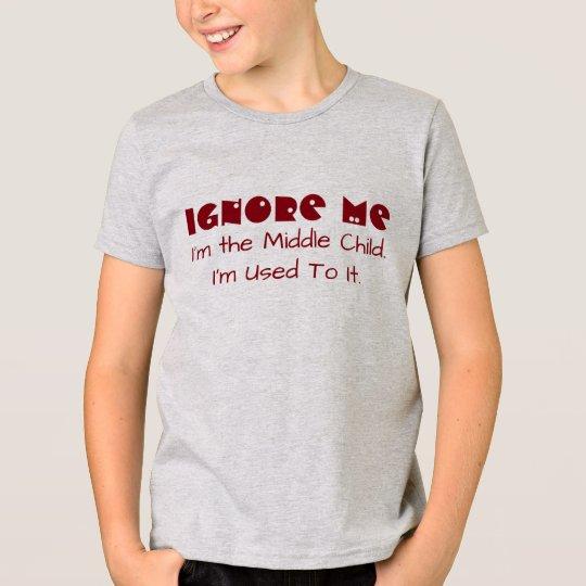 """Lustig """"ignorieren Sie mich. Ich bin das mittlere T-Shirt"""