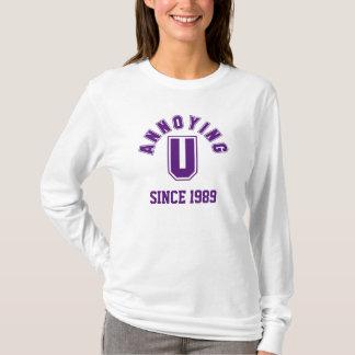 Lustig, Sie störend Damen-Sweatshirt, lila T-Shirt