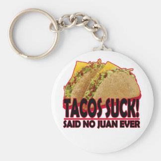 Lustig - Tacos Suck.png Standard Runder Schlüsselanhänger