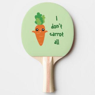 Lustig tue ich nicht Karotte aller Tischtennis Schläger