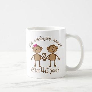 Lustige 46. Hochzeitstag-Geschenke Tasse