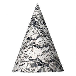 Lustige alienmetallzinn-Folien-Zeichen Partyhütchen