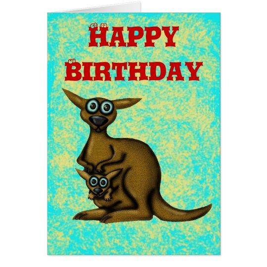 Lustige alles Gute zum Geburtstagkarte des Grußkarte