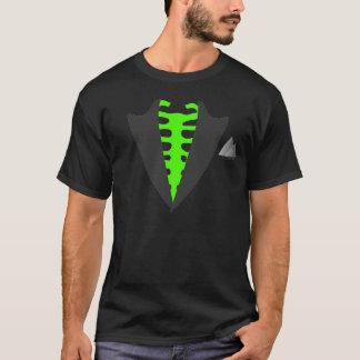 Lustige angesteckte Biogefahr des skeleton T-Shirt