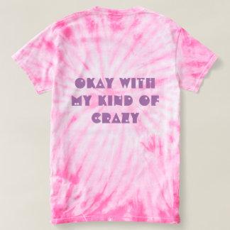 Lustige Ausdrücke zweigen meine Art von verrücktem T-shirt