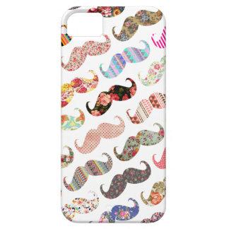 Lustige bunte girly Schnurrbart Etui Fürs iPhone 5