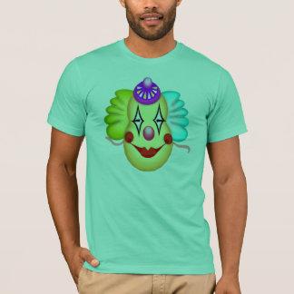 Lustige Clown-Gesichts-T - Shirts