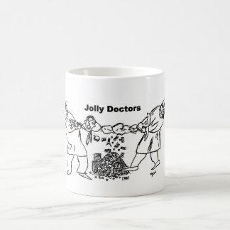 Lustige Doktorkaffee-Tasse