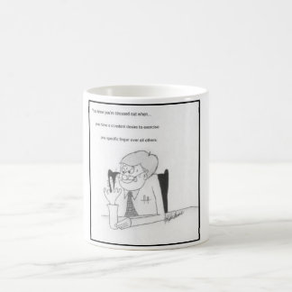 Lustige Druck-Tasse Kaffeetasse