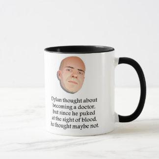 Lustige Dylandoktor-Tasse Tasse