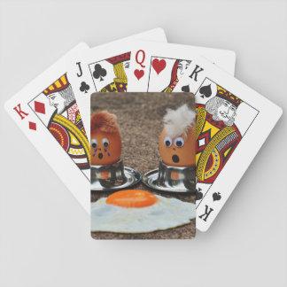 Lustige Eier Pokerkarten