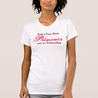 lustige Entwurfs-Geschenkidee Prinzessin T-shirt