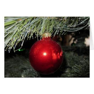 Lustige frohe Weihnachten Karte