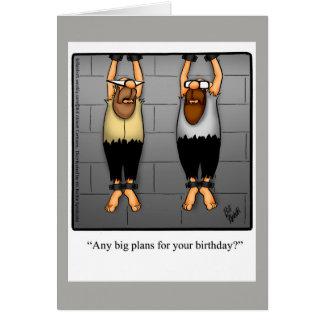 Lustige Geburtstags-Spaß-Karte für Freund Karte