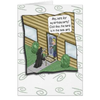 Lustige Geburtstagskarten: GeburtstagCluelessness Grußkarte