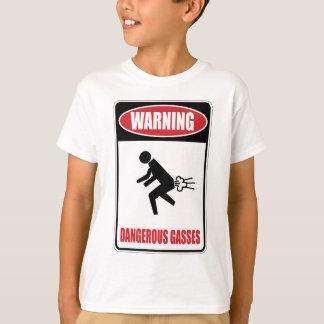 Lustige gefährliche Gase T-Shirt