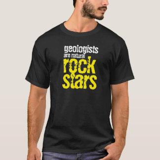 Lustige Geologen sind natürliche Rockstars T-Shirt