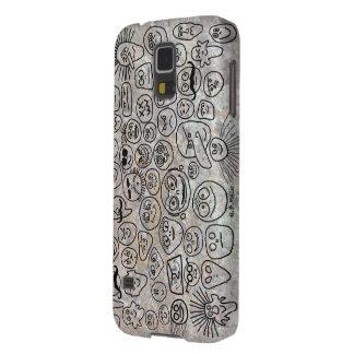 Lustige Gesichter Samsung S5 Hüllen