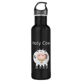 Lustige heilige Kuh ist es Ihr Geburtstag niedlich Edelstahlflasche