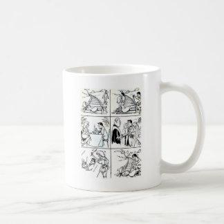 Lustige Heirat/verabredete Verhältnis-Zyklus Kaffeetasse