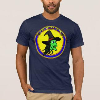 Lustige Hexe-T - Shirts